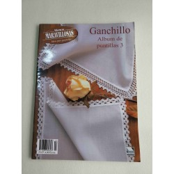 Revista Manos Maravillosas - Ganchillo - Album de Puntillas 3